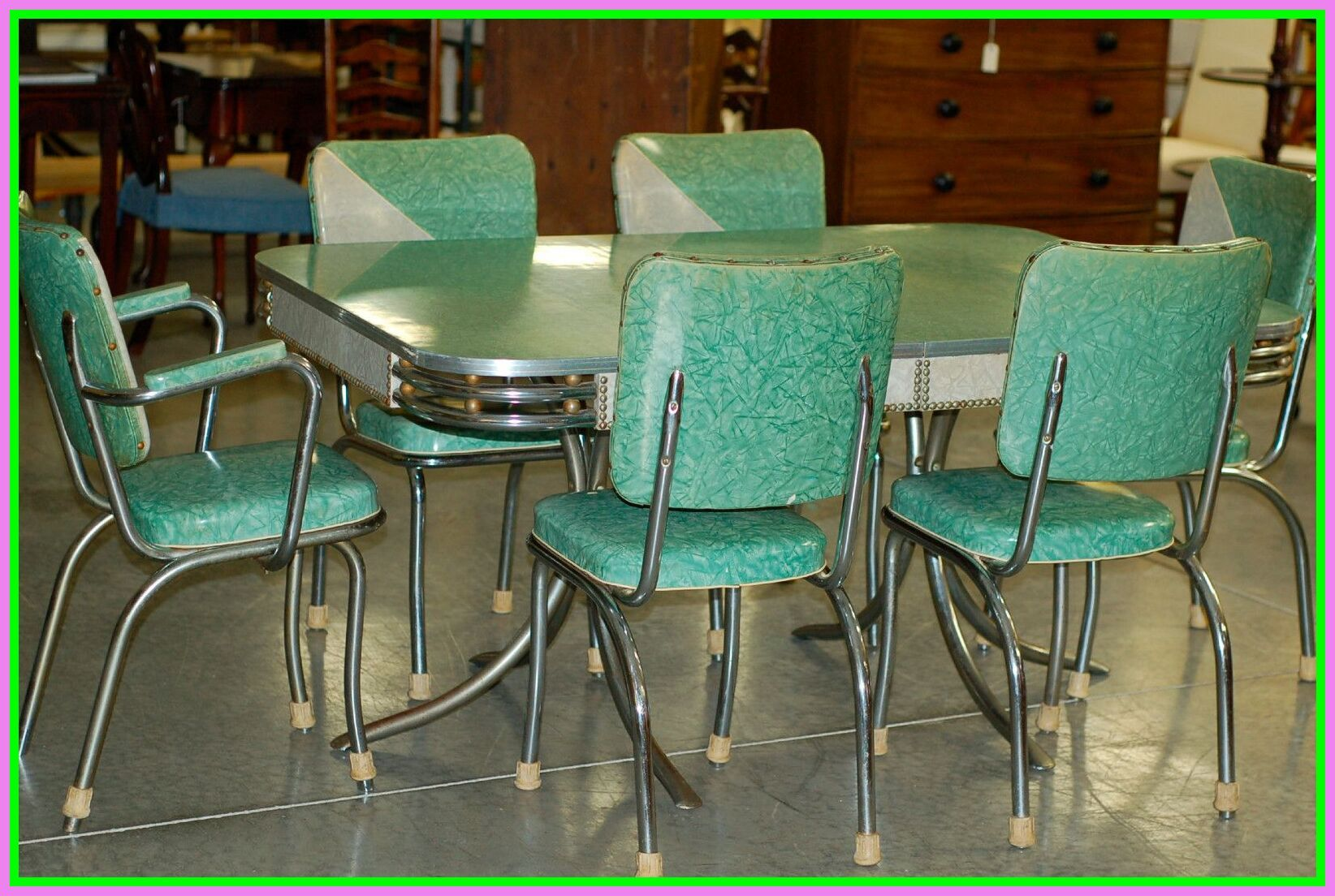 64 Reference Of Vintage Formica Table And Chairs In 2020 Retro