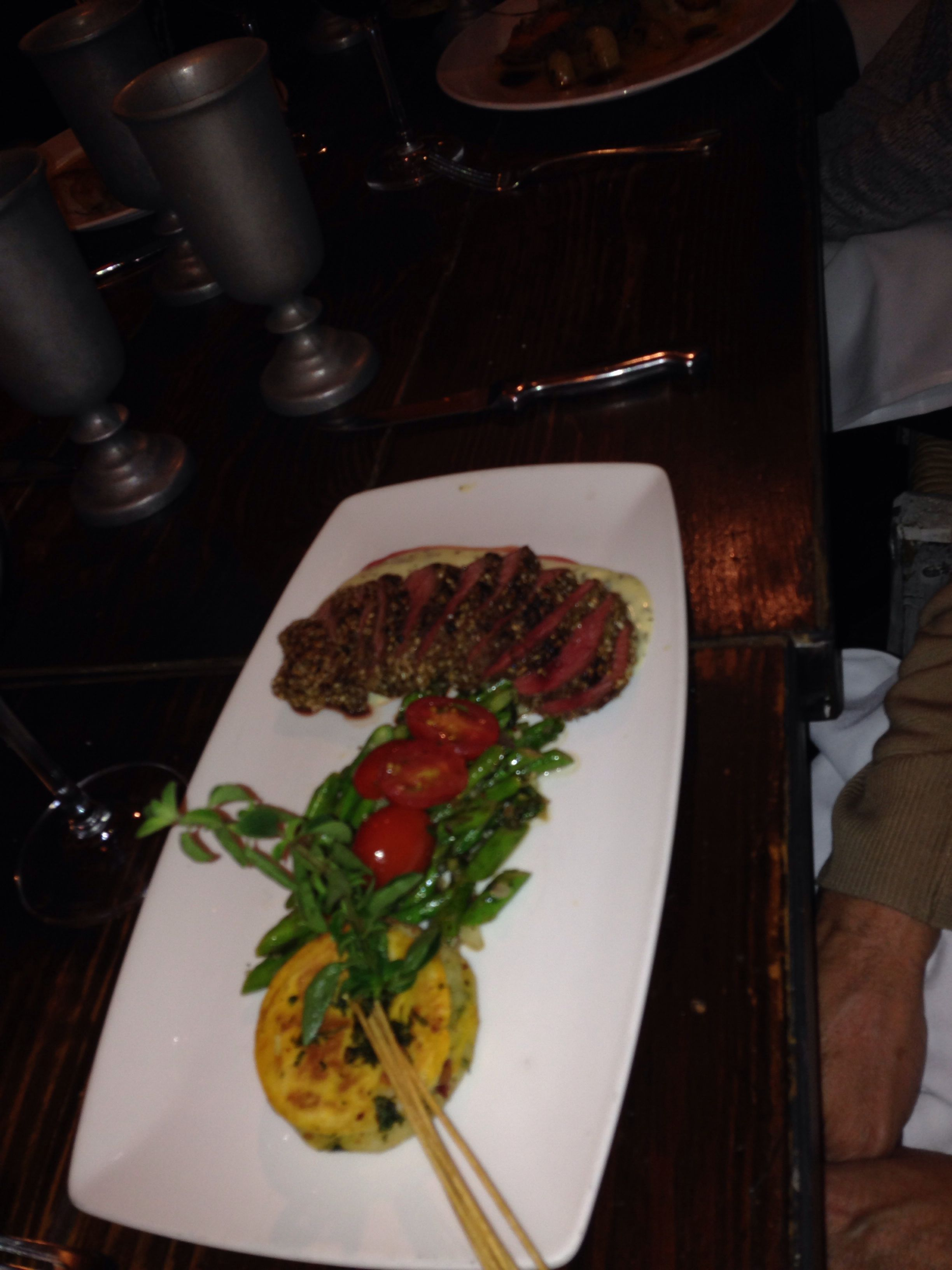 Nummmm Beef Sauteed Greens Restaurant In Park City Restaurant Recipes Sauteed Greens Food