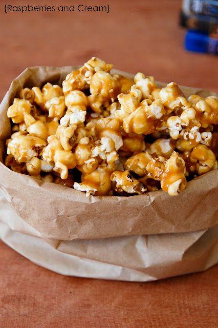 Salted Caramel Popcorn Xmas Gifts Catering Companies Sugar