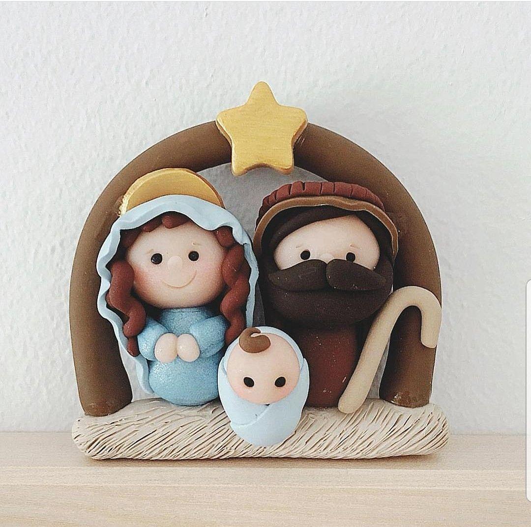Pin De Daanni Taa En Fantasia Arcilla De Navidad Porcelana Fría Navidad Adornos De Navidad Mesa