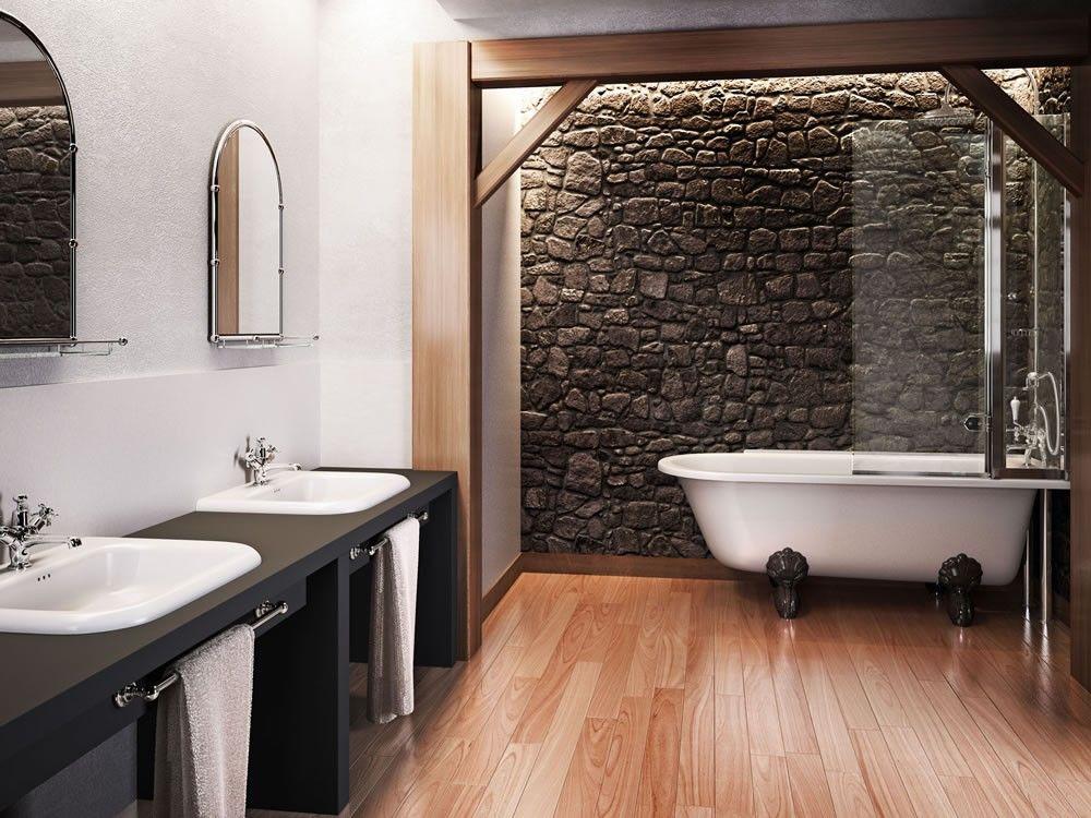 Traditional Kensington Free Standing Shower Bath Bathroom Store - Modern bathroom store