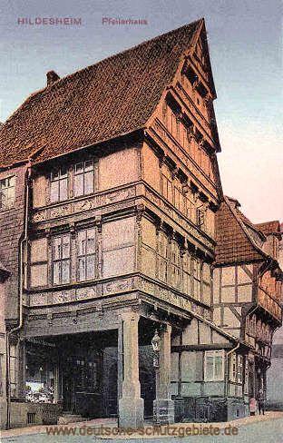 Beautiful Hildesheim Pfeilerhaus