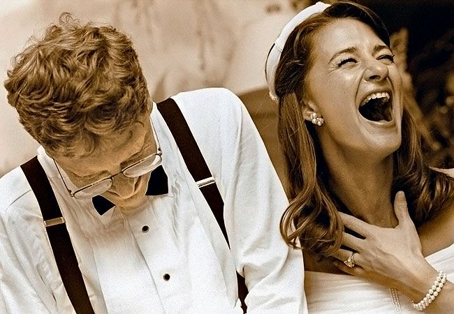 online Wallpapers: Bill and Melinda Gates Marriage Photo   Marriage photos, Bill gates, Famous couples
