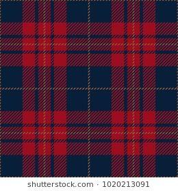 Blue and Red Tartan Plaid Scottish Pattern  5c83f8f20