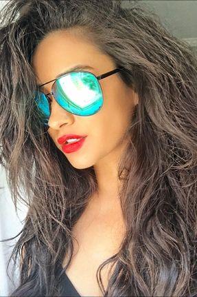 c0173073ac313 Quay Eyeware x Shay Mitchell Vivienne Sunglasses in Black Blue
