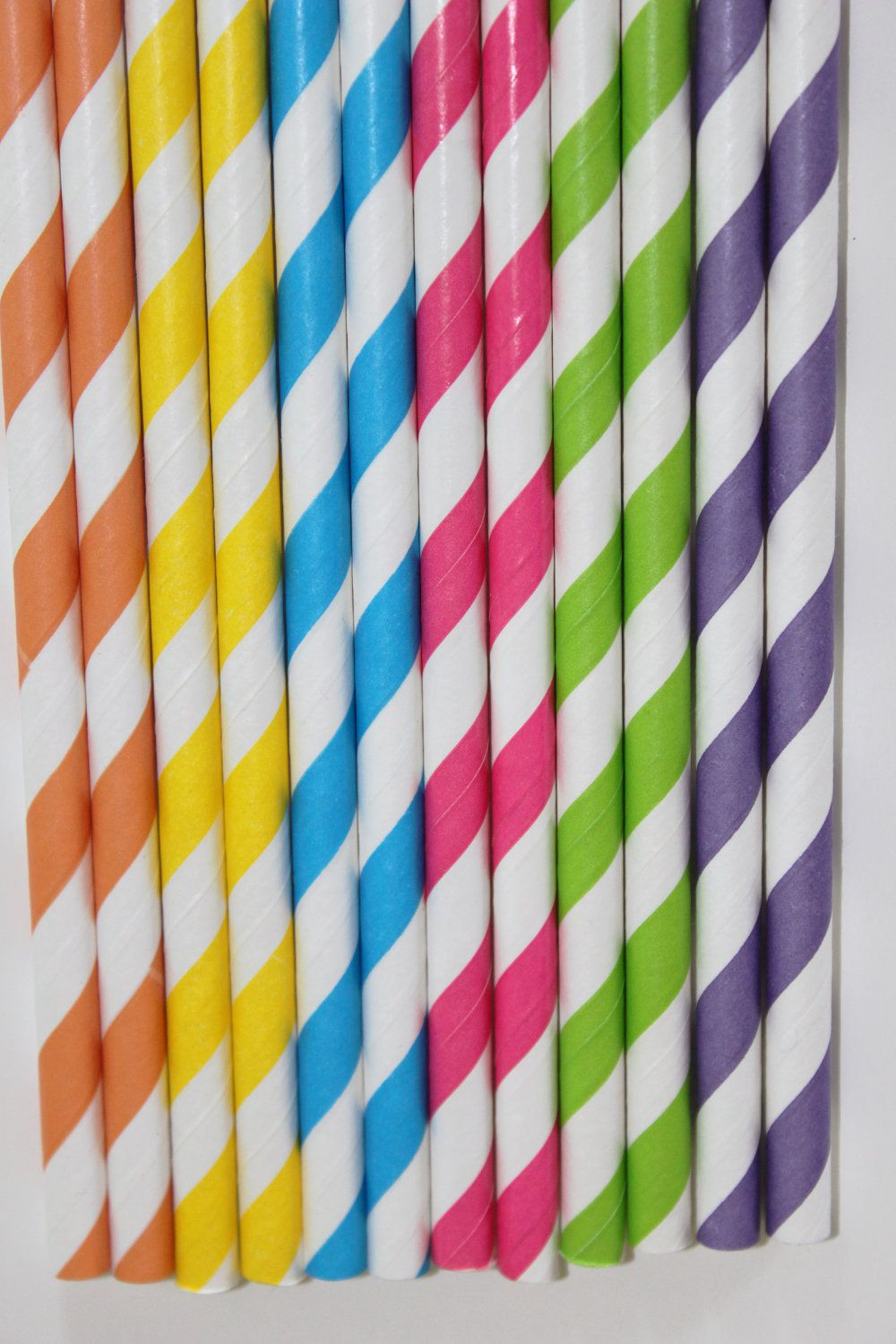 candy shoppe candyland striped paper straws birthday party