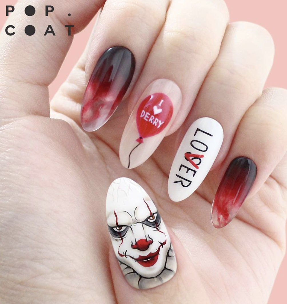 15 Nail Designs To Get You Into The Halloween Spirit ...