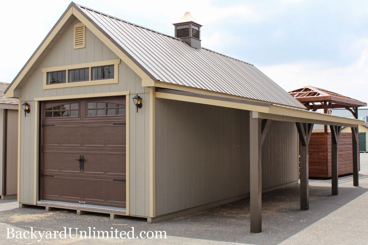 12x20 New England Shed With Painted Board Batten Siding Heritage Garage Building A Shed Backyard Sheds Shed Plans