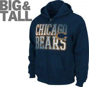 cheap for discount 016af 9139a Chicago Bears T-Shirt,Hoodie,Jacket 3X,4X,5X,6X,XLT,2XT,3XT ...