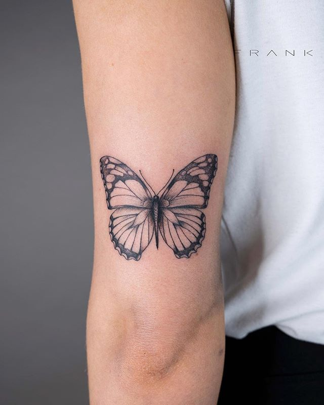 Incredibly Beautiful Collection Of 100 Butterfly Tattoos That You'd Want To Get Right Now - Millions Grace