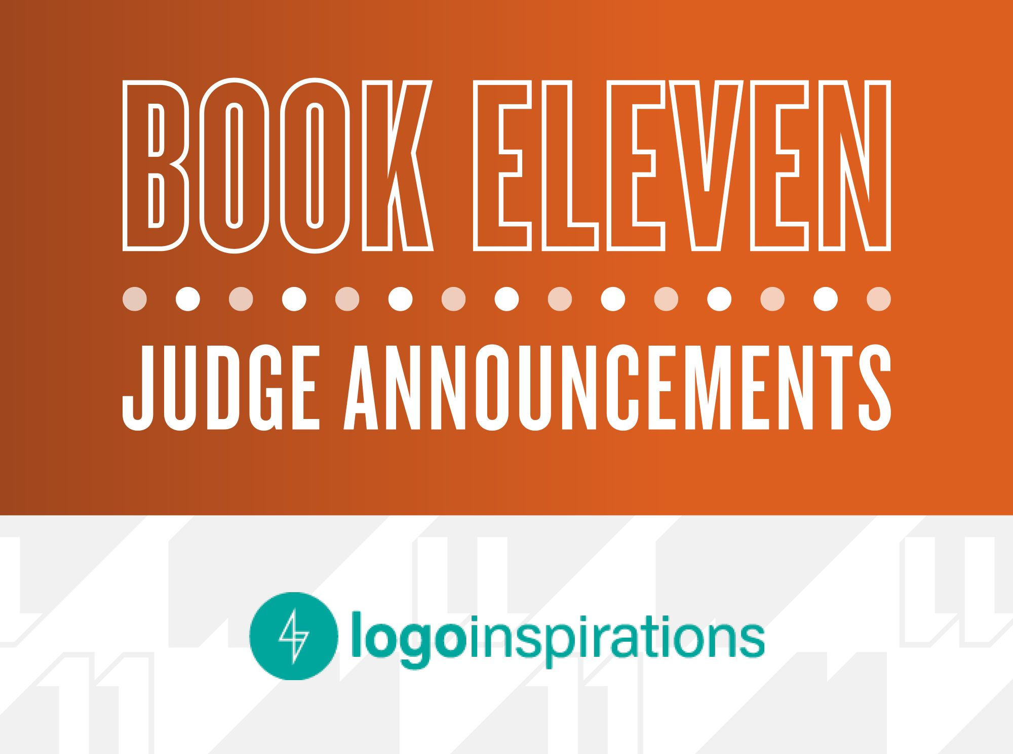 The LogoLounge Book 11 judges are being announced via ...