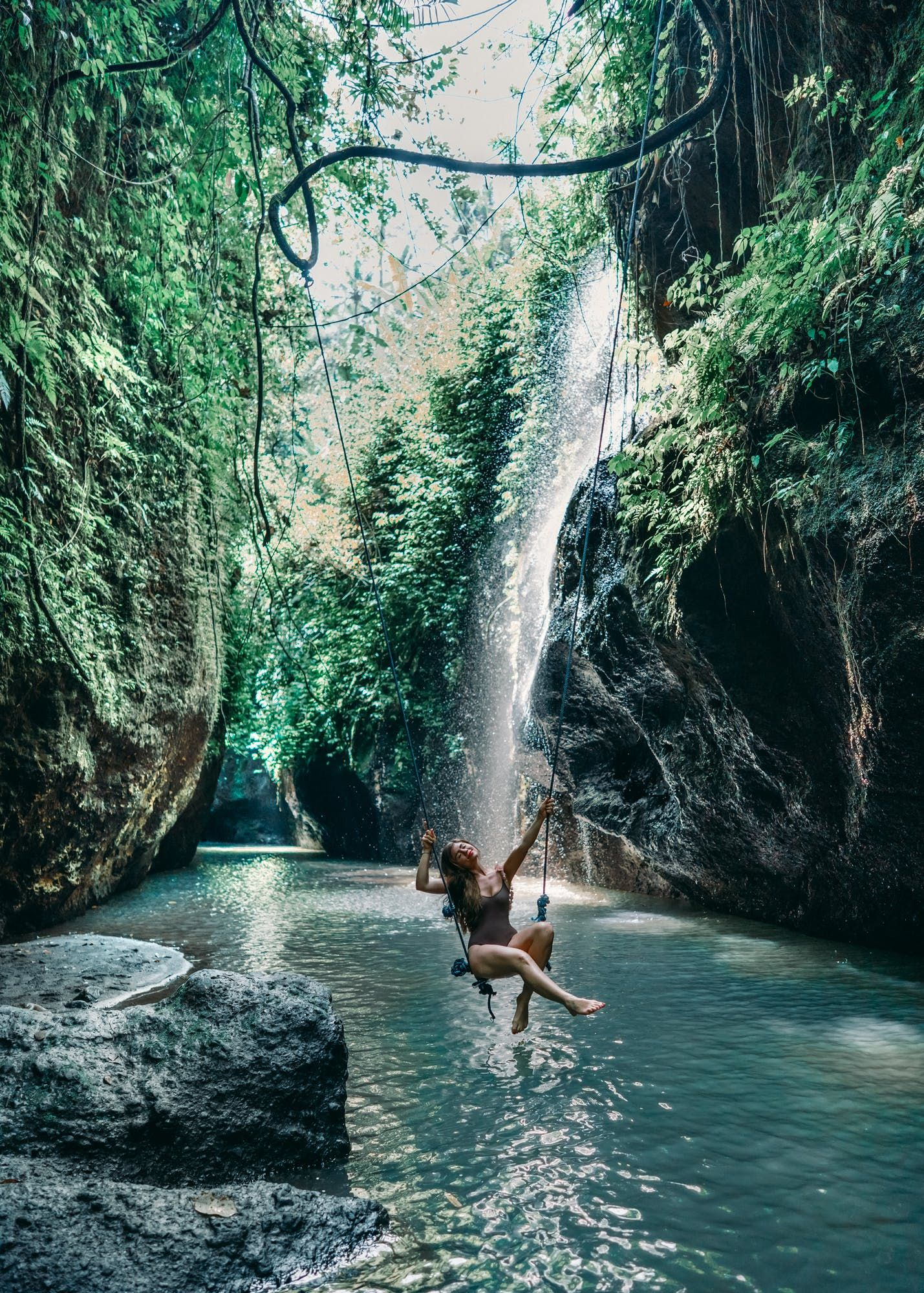 Jungles, Temples, and Waterfalls - A Lush Weekend in Bali, Indonesia | Away Lands - How to see it all in a few day: Nusa Dua, the beaches of Uluwatu, Rice Terraces of Ubud, Monkeys, Bali Swings, Bali Gates, and the best Beach Club on The Island of the Gods