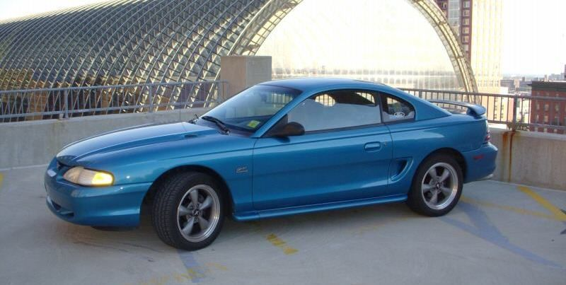 Teal Blue 1994 Ford Mustang Gt Coupe Mustangattitude Com Mobile Mustang Gt Mustang Sn95 Mustang