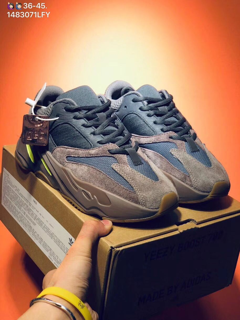 eb3ab061209c8 Adidas yeezy boost 700 V2 static reflective sneakers woman man couple shoes