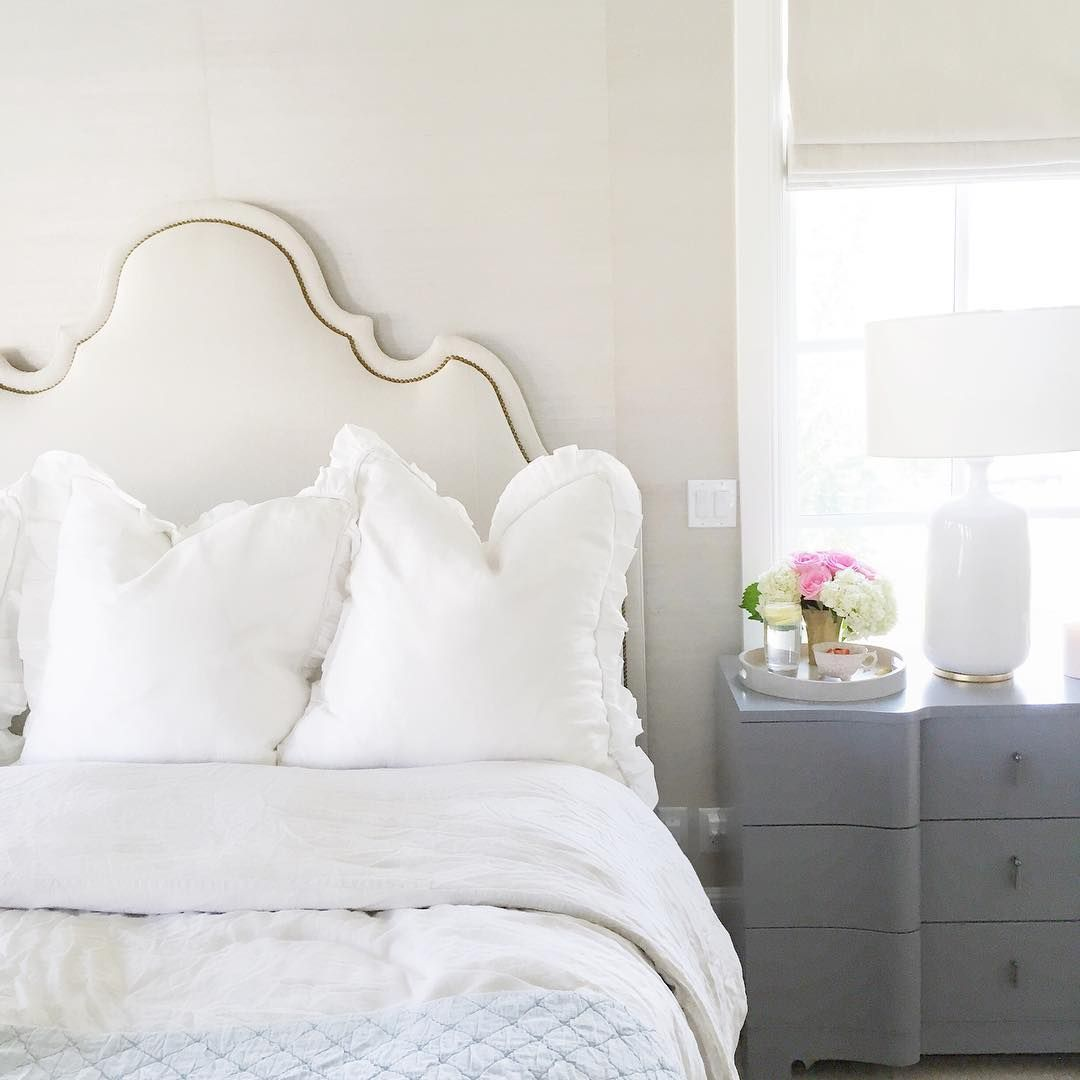 Diy Headboards Paint Colors And Living Room Paint: Grass Cloth Wallpaper; Ashwood Paint By Benjamin Moore