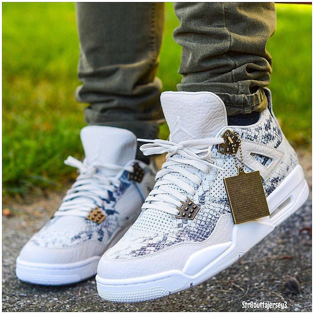 san francisco 86293 afe1b  RetroTattooIdeas  Tattoo Air Jordan 4 Premium Pinnacle Snakeskin, click  for more info.
