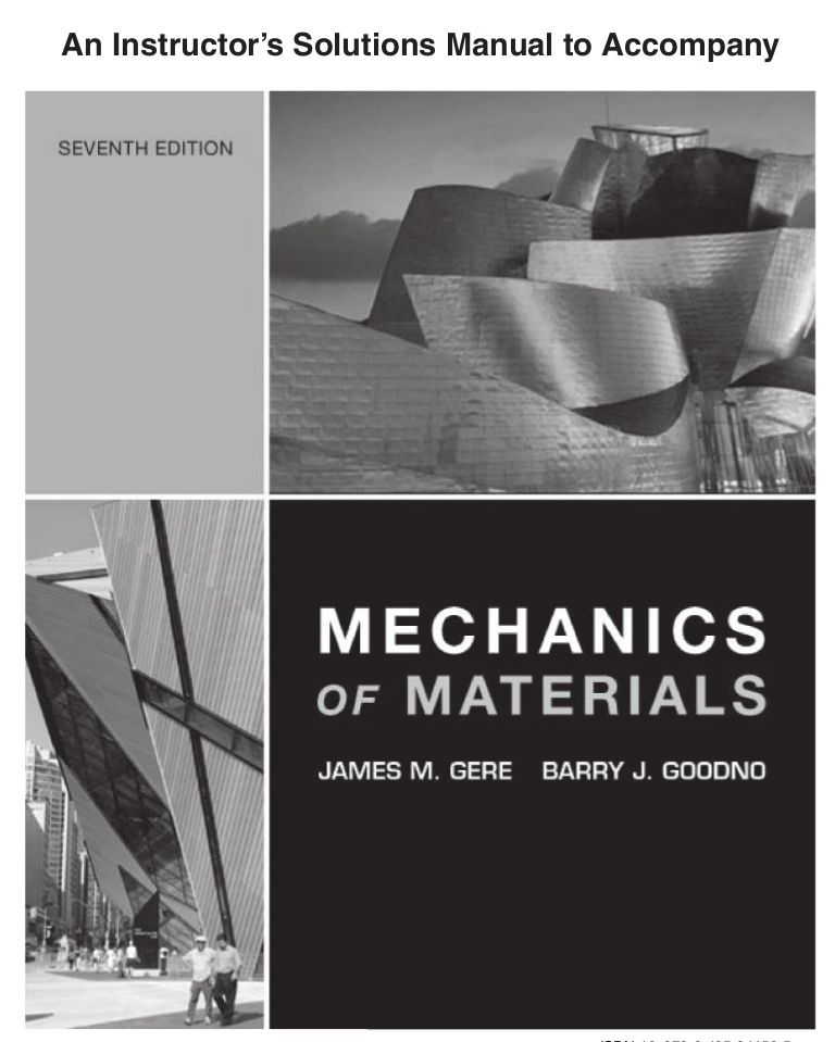 Solution manual mechanics of materials 7th edition gere goodno by solution manual mechanics of materials 7th edition gere fandeluxe Choice Image