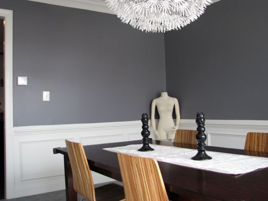 Classic French Gray Sherwin Williams Were Painting Dining Room