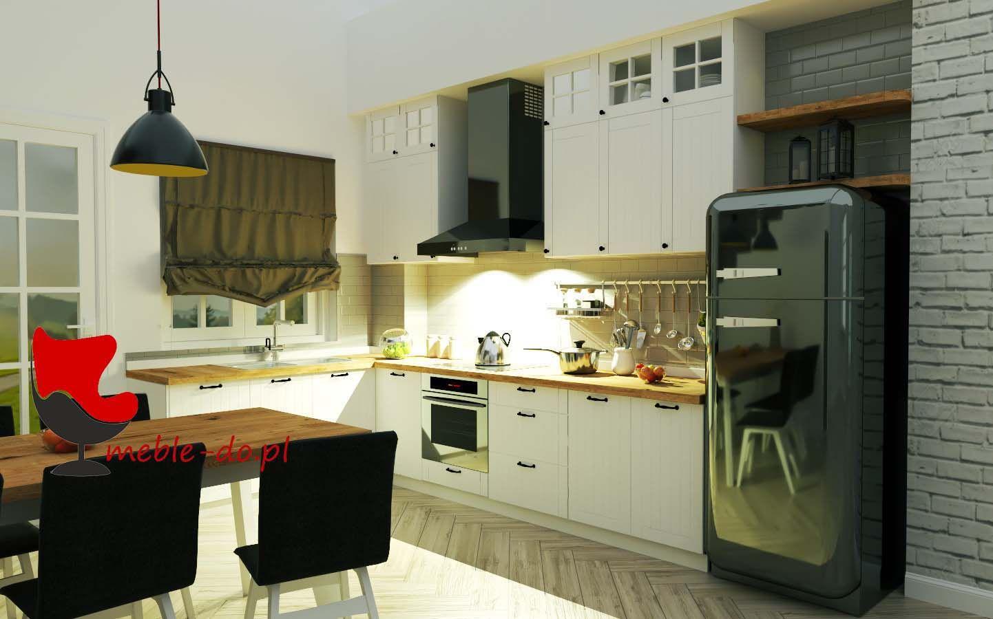 Kuchnia W Zabudowie Pod Sufit Kolekcja Lora Home Decor Kitchen Cabinets Furniture
