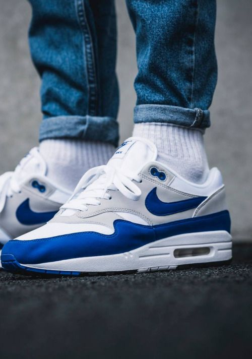 Nike Air Max 1 'Anniversary Blue' in 2019 | Nike air max ...