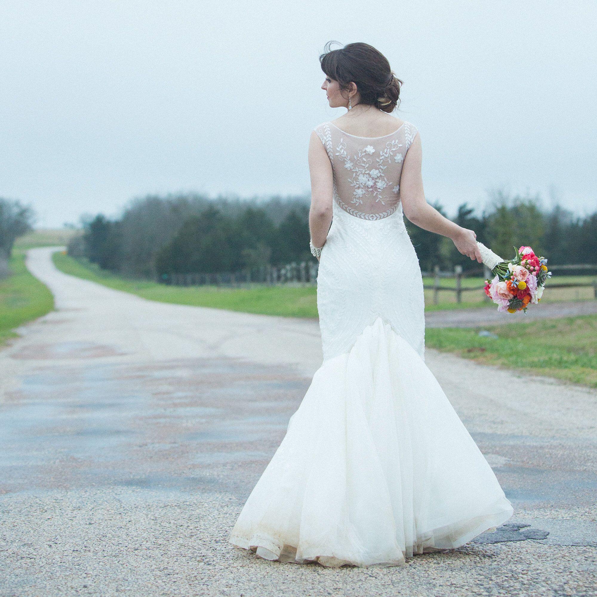 Pronovias La Gara Wedding Dress