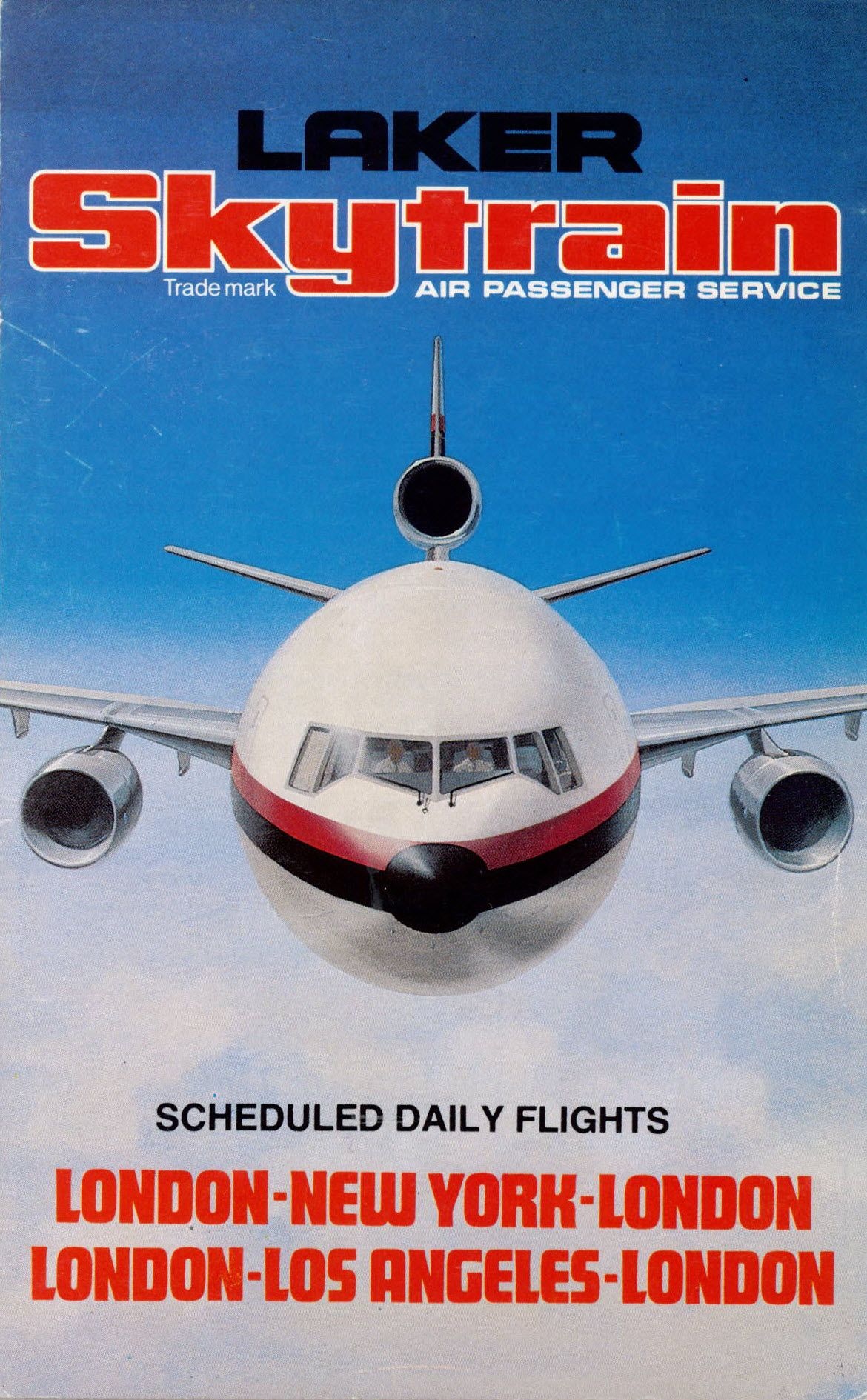 Laker Airways in the 70's Airline logo, Jet airlines