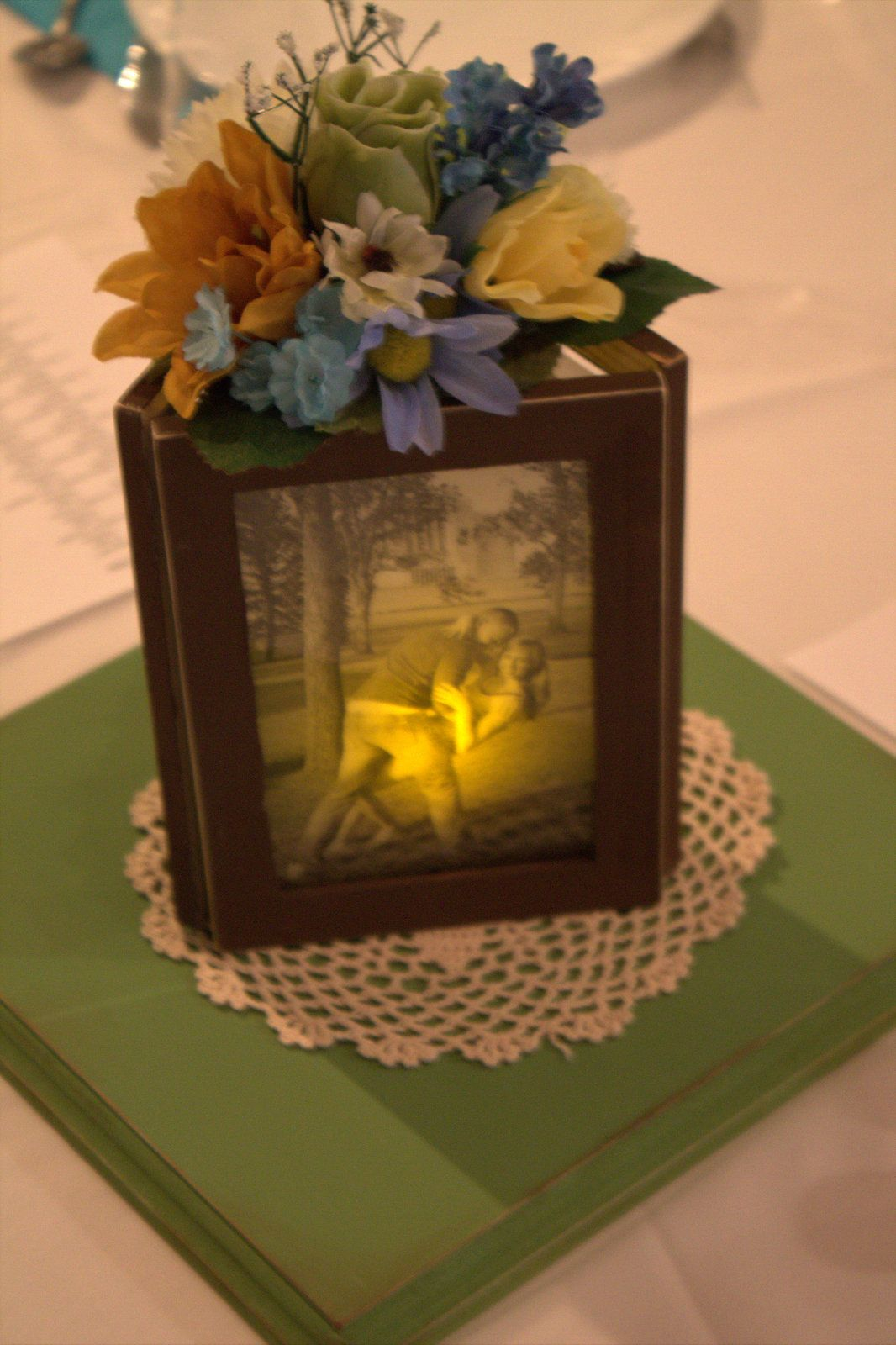 Yearning to create picture frame centerpieces wedding ideas yearning to create picture frame centerpieces jeuxipadfo Choice Image