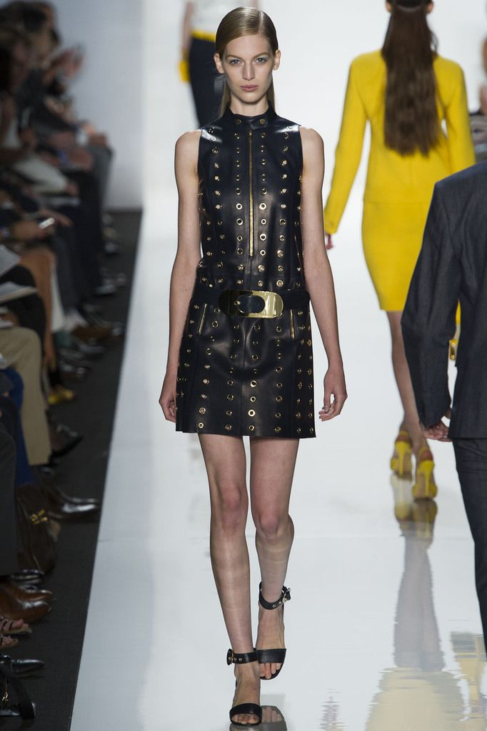 Spring 2013 Fashion Trends Brought Home: Grommets and Studs.  Michael Kors spring 2013