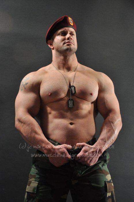 Gay sexy muscular military men naked black 2