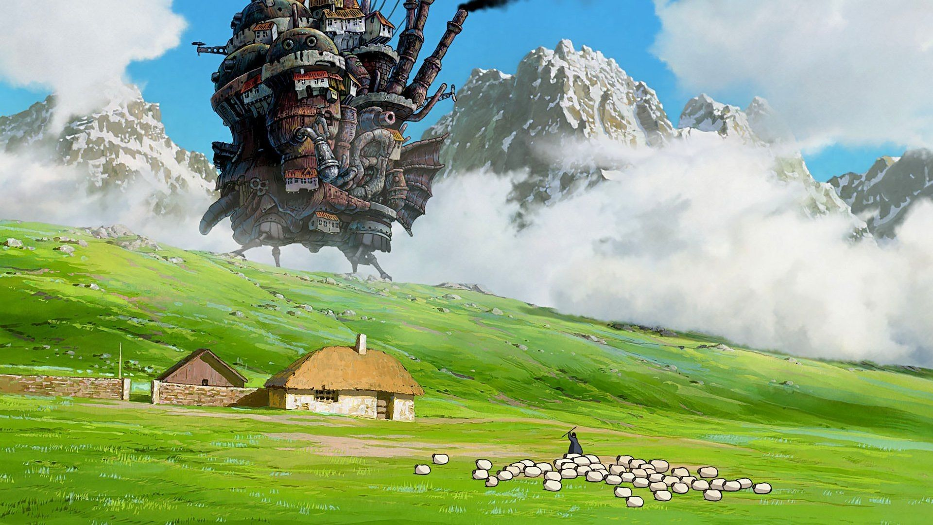 1920x1080 Howl S Moving Castle Hd Wallpapers Howls Moving Castle Howl S Moving Castle Studio Ghibli