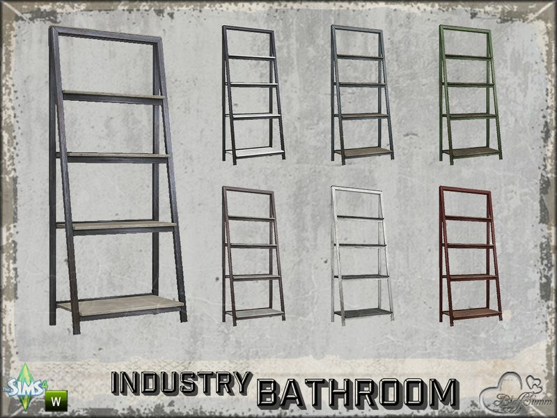 Part of the *Bathroom Industry*  Found in TSR Category 'Sims 4 End Tables'