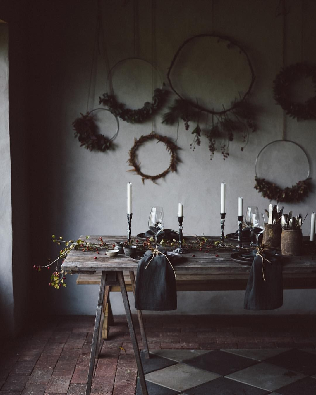 Winter Feast By Babes In Boyland Wintersolstice Homedecor