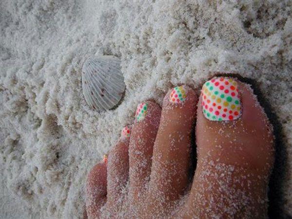 19 Adorable Toe Nail Designs Easy Ideas 2015