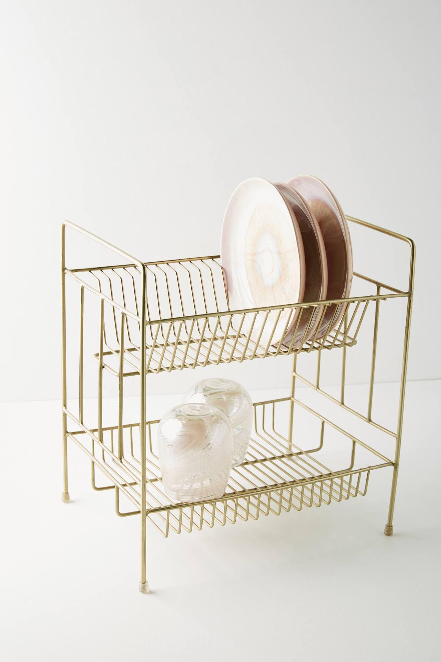 Brass Dish Rack Dish Racks Dish Rack Drying Kitchen Collection