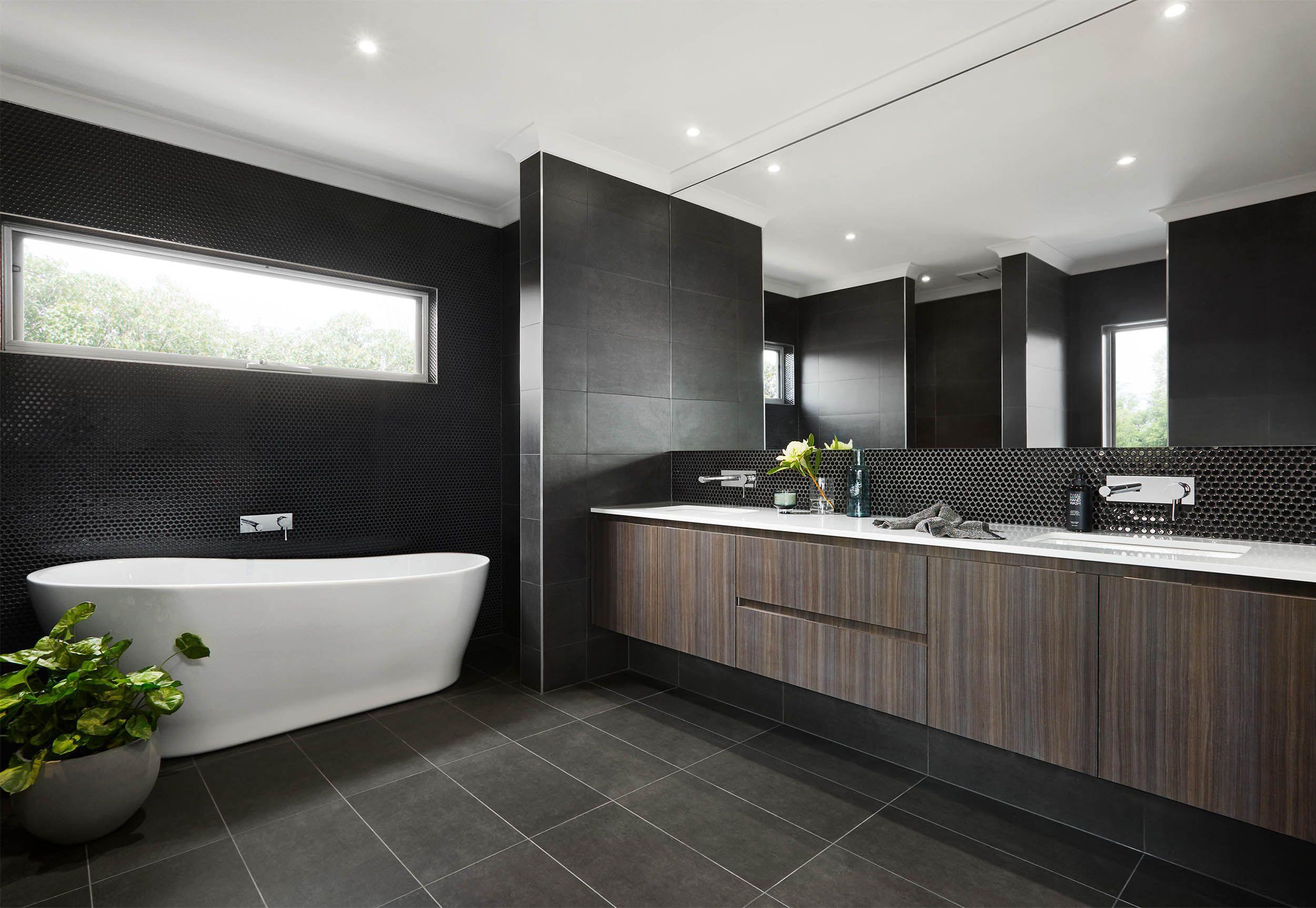 Essendon 41 ensuite. Tile bathroom, Oak bathroom, Style tile