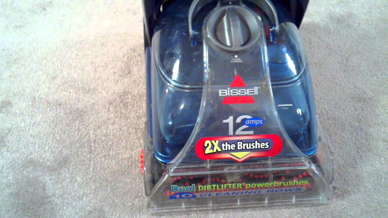 Bissell Proheat 2x Fluid Dispensing Problem Fix Carpet Cleaning