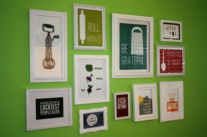Paredes decoracion creativa con cuadros y fotografías | Decoración ...