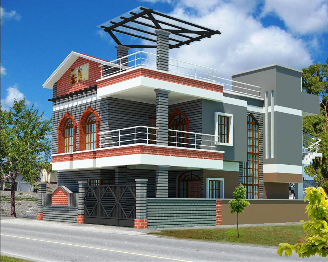 3d Exterior House Design Online