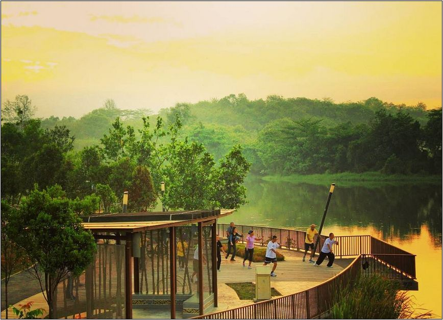 The Best Place Of Punggol Waterway Park Singapore With Images Nature Tourism Waterway Tourist Places