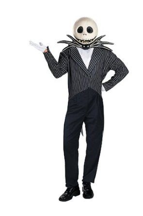 amazoncom jack skellington adult halloween costume clothing