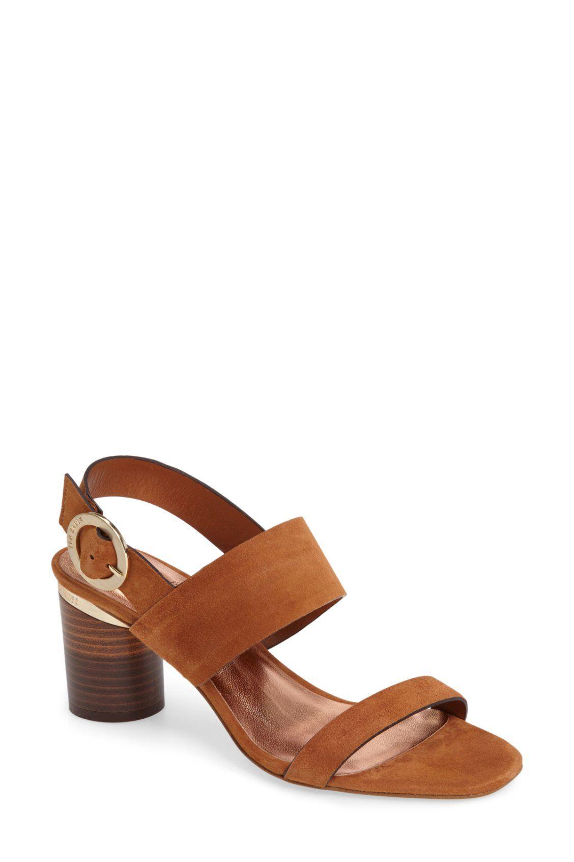 bd4e3d45dfd3c Classic tan Ted Baker London Azmara Sandals