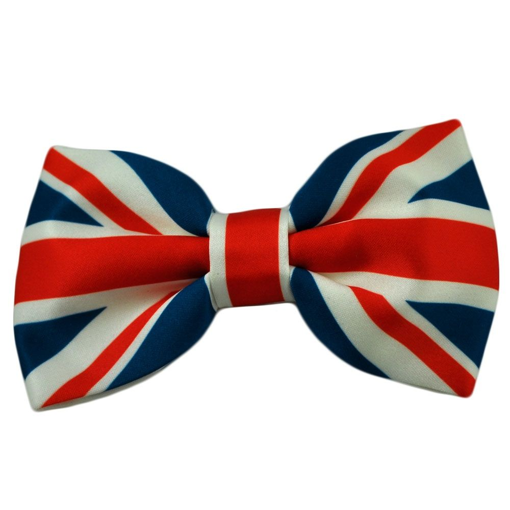 791ff831acfd Union Jack Bow Tie - from Ties Planet UK | British party | Tie ...