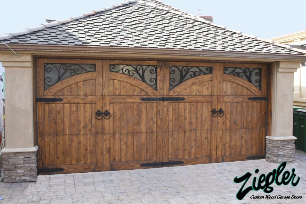 French Country Style Garage Doors In 2020 Garage Door Design French Country Houses Exterior Garage Doors