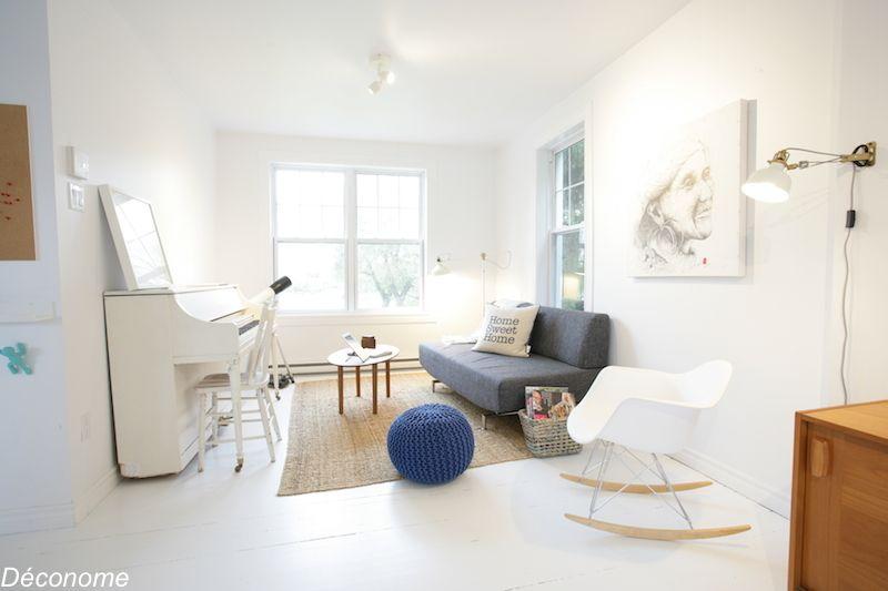 Visite Deconome D Une Maison Aux Airs Scandinaves Au Bord De L Eau Idee Deco Pas Cher Maison Mobilier De Salon