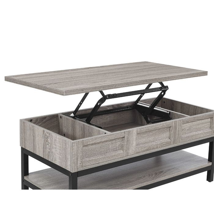 Add A Touch Of Antique Style To Your Sitting Area With The Apothecary Look Of The Oma Modern Farmhouse Coffee Table Coffee Table Farmhouse Lift Up Coffee Table