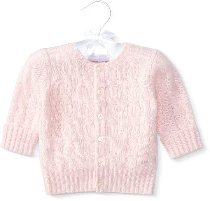 16897c08a Ralph Lauren Cable-Knit Cashmere Cardigan
