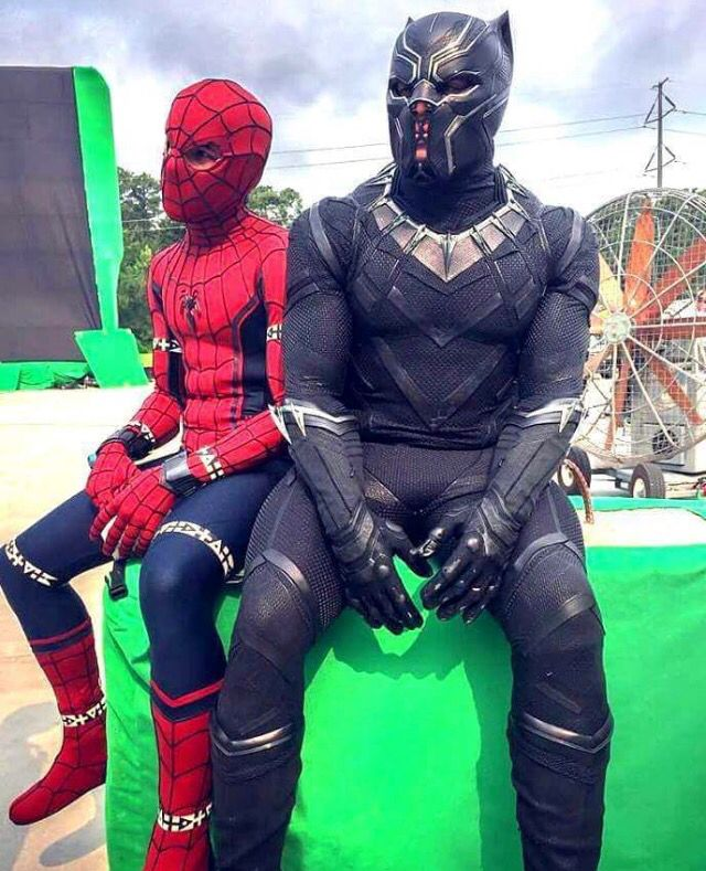 Behind The Scenes Captain America Civil War Spiderman Avengers