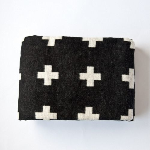 PIA WALLEN, CROSS BLANKET: all i can think about is flannel because our heater is broken.