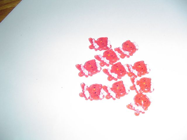 'Red Hello Kitty Buttons' is going up for auction at 12am Sat, Jul 28 with a starting bid of $1.