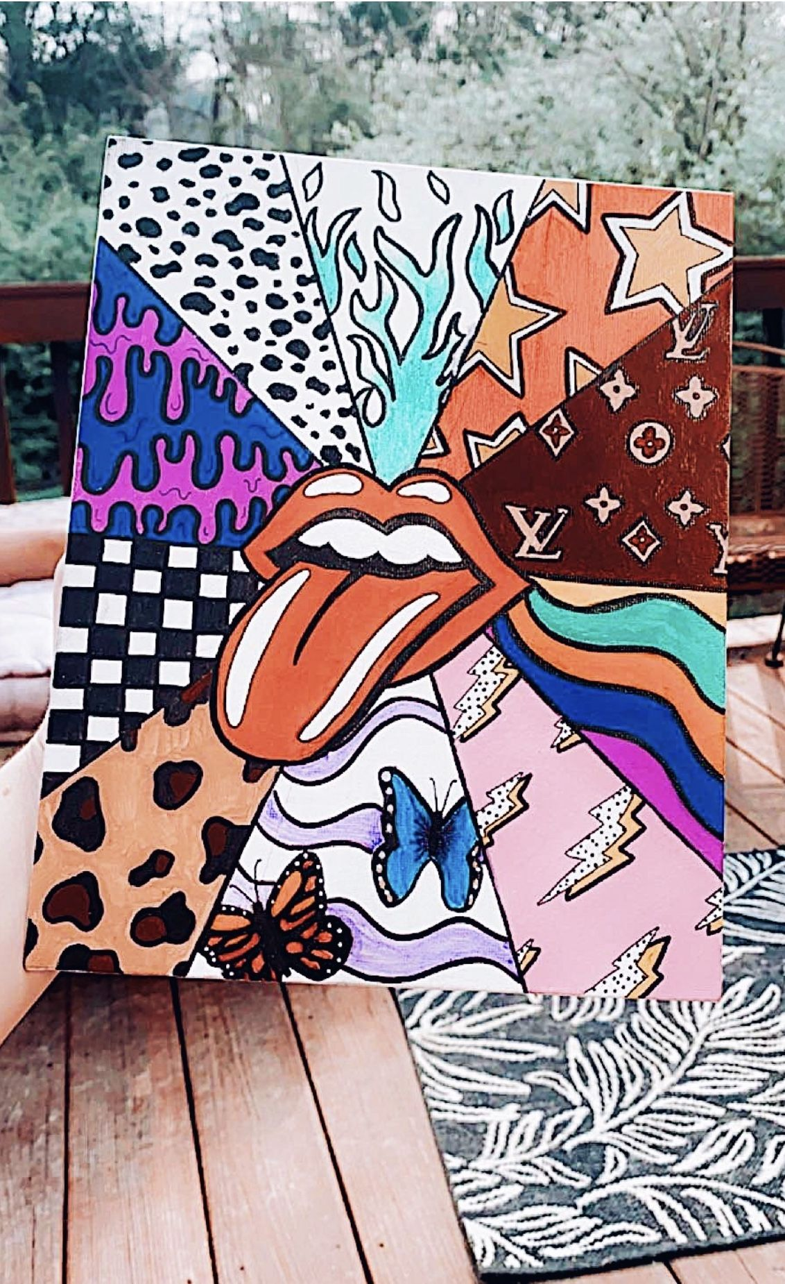 Pin By Hailey Heptig On Creativity Diy Canvas Art Mini Small